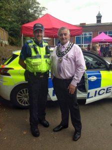 Mayor and PCSO