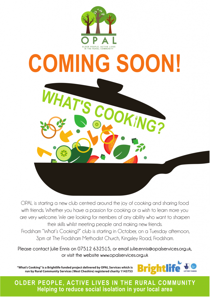 What's Cooking Poster