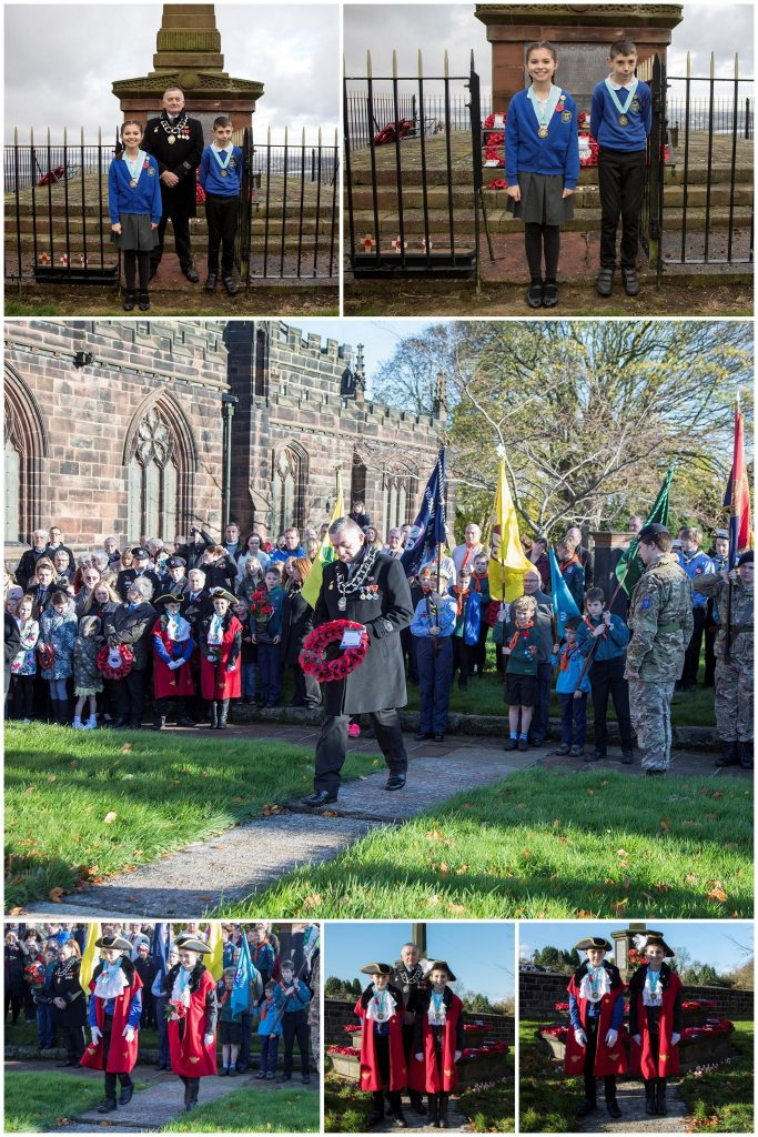 A selection of photos of both ceremonies