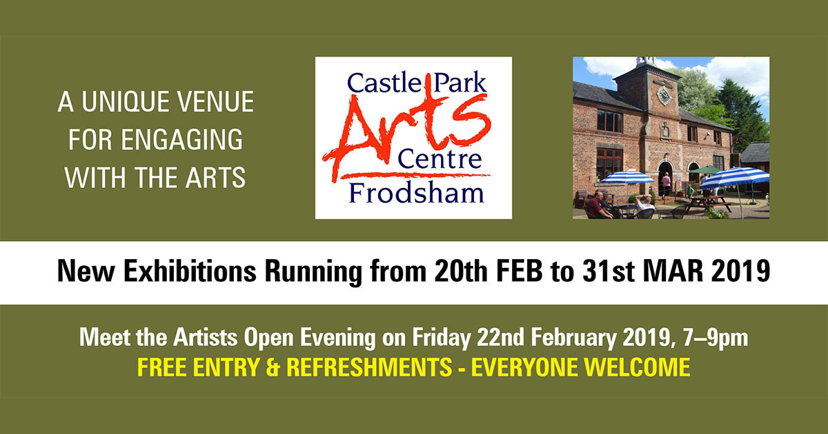 whats on at castle park arts centre march 2019