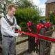 Mayor opens new school garden