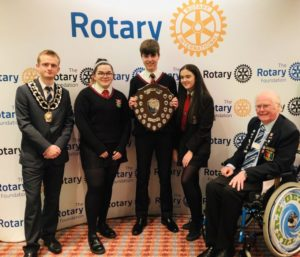DGE Peter James-Robinson MBE, District Governor Elect, Rotary District 128