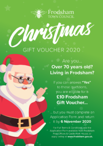 Publicity Poster with Santa