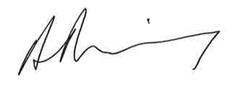 Returning Officer's signature