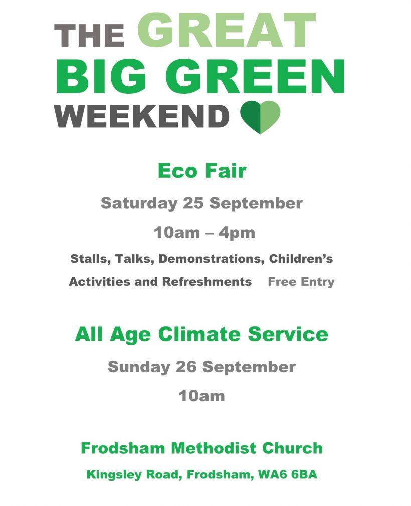 The Big Green Weekend Eco Fair